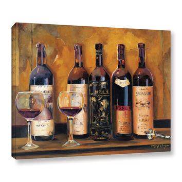 ArtWall Marilyn Hageman's Cellar Reds, Gallery Wrapped Canvas   Overstock.com Shopping - The Best Deals on Gallery Wrapped Canvas