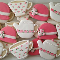 Tea party cookies (two dozen)