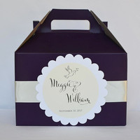 Color Hotel Welcome Boxes with Custom Labels