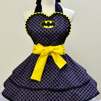 Made to Order- Batman Apron