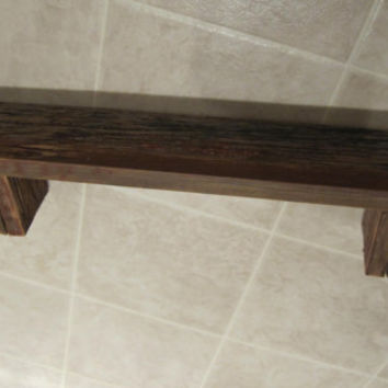 Barnwood Shelf 24""