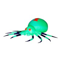 SheilaShrubs.com: Airblown Inflatable Spider Neon Green Spider 64265 by Gemmy: Halloween