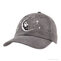 Grateful Dead Jerry Moon Cap Grey on Sale for $28.95 at The Hippie Shop