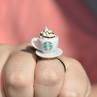 Starbucks Ring - Adjustable