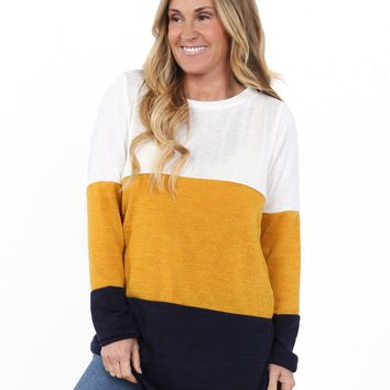 Florence Color Block Tunic