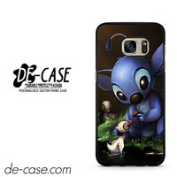 Stitch Feeding Duck DEAL-10179 Samsung Phonecase Cover For Samsung Galaxy S7 / S7 Edge