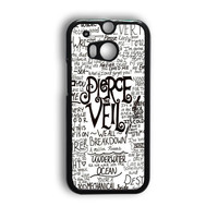 Pierce The Veil Song Lyric HTC One M9 Case