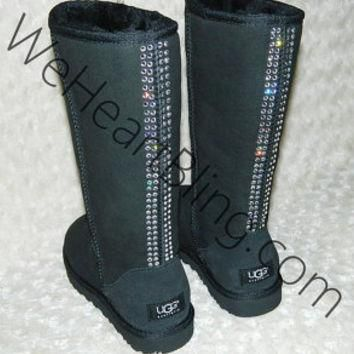 100% Genuine Swarovski Crystal UGG Boots All Sizes Available