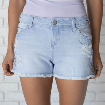 Shake It Off Embroidered Shorts