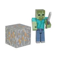 Minecraft Core Series #1 Zombie Action Figure