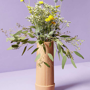 Umbra Shift Pleated Vase - Urban Outfitters