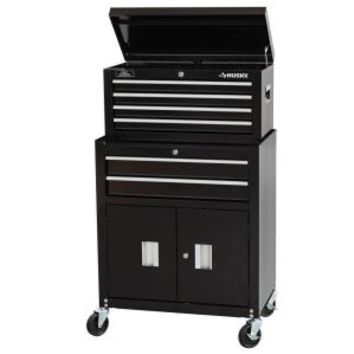 Husky, 6 Drawer Chest and Cabinet Combo, C-296BF16 at The Home Depot - Mobile