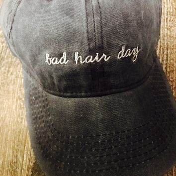 Bad Hair Day Hat- Navy