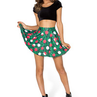 Painting The Roses Red Skater Skirt