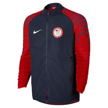 Limited Edition Team USA Nike 2016 Rio Olympics Medal Stand Full Zip Jacket (L)