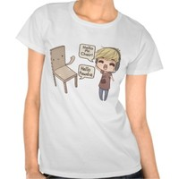 Pewdiepie and Mr. Chair Tee