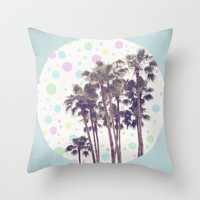 I Dream of Paradise Throw Pillow by Beth Thompson