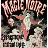Musee Grevin Magie Noire Magic Poster