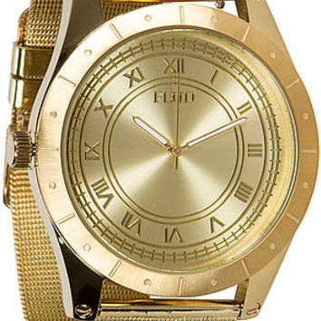 The Big Ben Watch with Interchangeable Bands in Gold