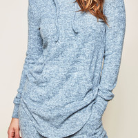 MARLED KNIT SUPERSOFT HOODIE