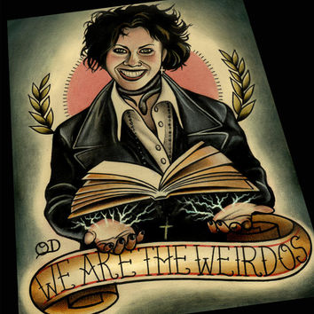 We Are The Weirdos Art Print