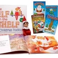 The Elf on the Shelf: A Christmas Tradition with Blue Eyed North Pole Pixie-Elf * Includes Free Christmas Activity Pad *