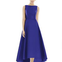 Alfred Sung by Dessy D698 High Low Bridesmaid Dress