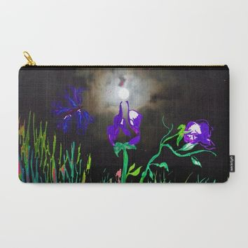 Majestic Bloom Carry-All Pouch by ES Creative Designs