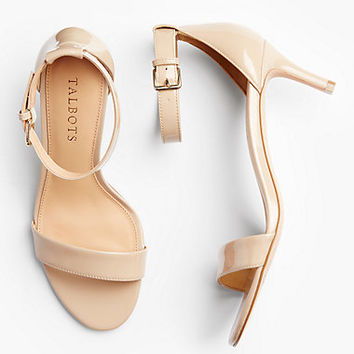 Trulli Ankle-Strap Sandals-Patent Leather | Talbots