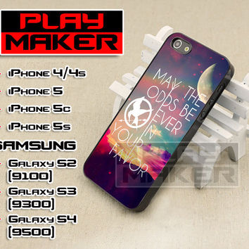 Quote Of Hunger Games - iPhone 4/4s, iPhone 5, 5s, 5c, Samsung Galaxy i9200 s2, i9300 s3 and i9500 s4 Case