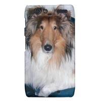 Rough Sable Collie Droid RAZR Case from Zazzle.com