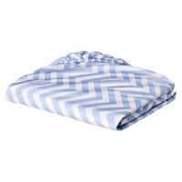 Circo Chevron Fitted Crib Sheet