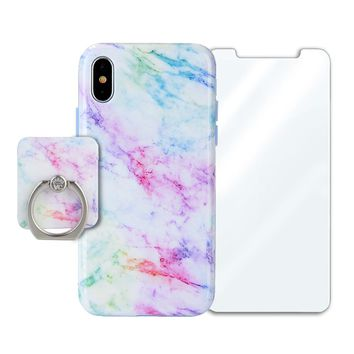 Pastel Rainbow Marble Bundle Set