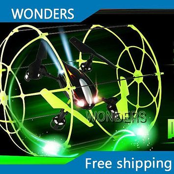 Sky Walker 4 CH RC Quadcopter Flying Walker Climbing Helicopter Running on the floor Climbing on the wall Matrix