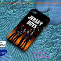 Jersey Boys_who loves you Custom Case for iPhone 4, 4s, 5, 5s, 5c, Samsung Galaxy S3, S4