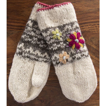 In Bloom Mittens