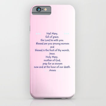 Hail Mary iPhone & iPod Case by Zia