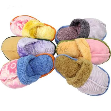 Hot Pet Dog Toy Puppy Chew Play Squeaky Squeaker Cute Sound Plush Slipper Shape