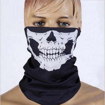 Halloween Mask Sexy Scary Skull Horror Skeleton Ghost Mask Motorcycle Bicycle Scarf Cap Festive Party Masks Halloween