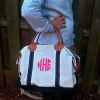 Monogram Canvas Satchel/Duffel