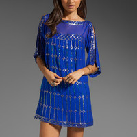 Nanette Lepore Dorian Silk Dress in Sapphire from REVOLVEclothing.com