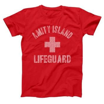 Amity Island Lifeguard Men's T-Shirt