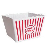 Bulk Large Striped Plastic Popcorn Tubs at DollarTree.com