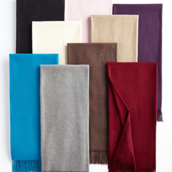 PRATESI Luxury Italian Double Sided Cashmere Throw Blanket