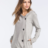 Hurley Shelbie Womens Jacket Heather Grey  In Sizes