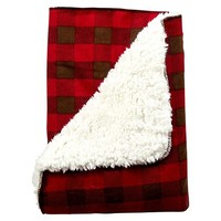 Trend Lab Northwoods Buffalo Check Receiving Blanket