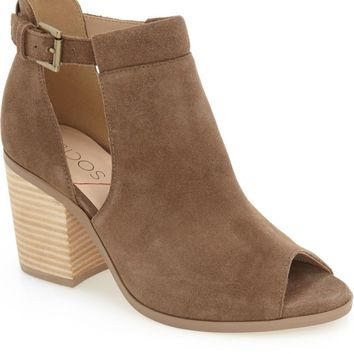 Sole Society 'Ferris' Open Toe Bootie (Women) | Nordstrom