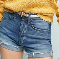 McGuire Georgia May High-Rise Denim Shorts