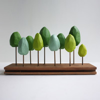 2of2 goods: Spring Green Tabletop Forest, at 13% off!