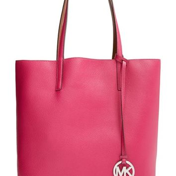 Women's MICHAEL Michael Kors 'Izzy - Large' Pebbled Leather Tote (Nordstrom Exclusive)